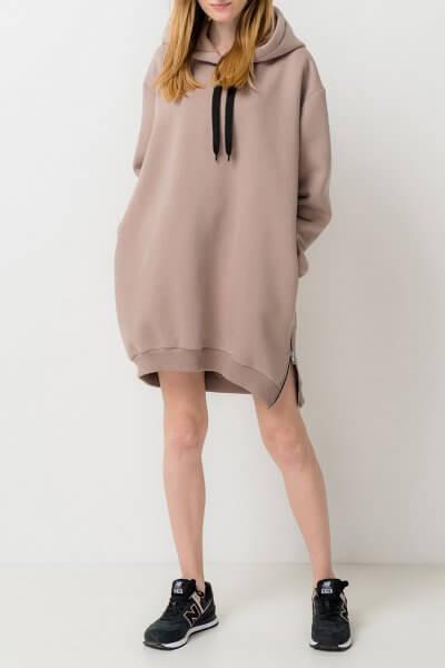Платье-худи из хлопка TFAM_AN10, фото 1 - в интеренет магазине KAPSULA