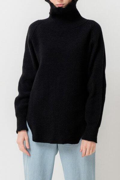 Удлиненный свитер с разрезами TFAM_AN12, фото 1 - в интеренет магазине KAPSULA