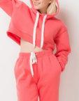 Платье-худи из хлопка TFAM_AN10, фото 6 - в интеренет магазине KAPSULA