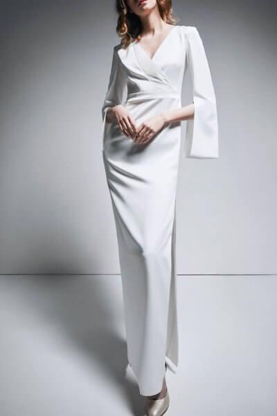 Платье на запах TTWH_В1901_outlet, фото 1 - в интеренет магазине KAPSULA
