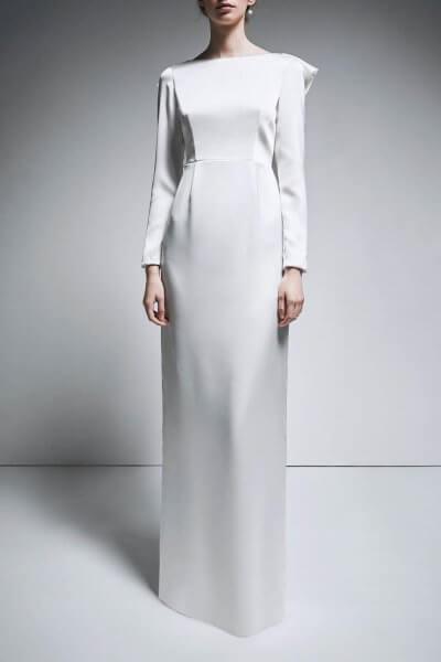 Платье c открытой спиной TTWH_B1904_outlet, фото 1 - в интеренет магазине KAPSULA