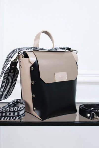 Рюкзак из кожи Adara VIS_Adara:backpack-001, фото 4 - в интеренет магазине KAPSULA