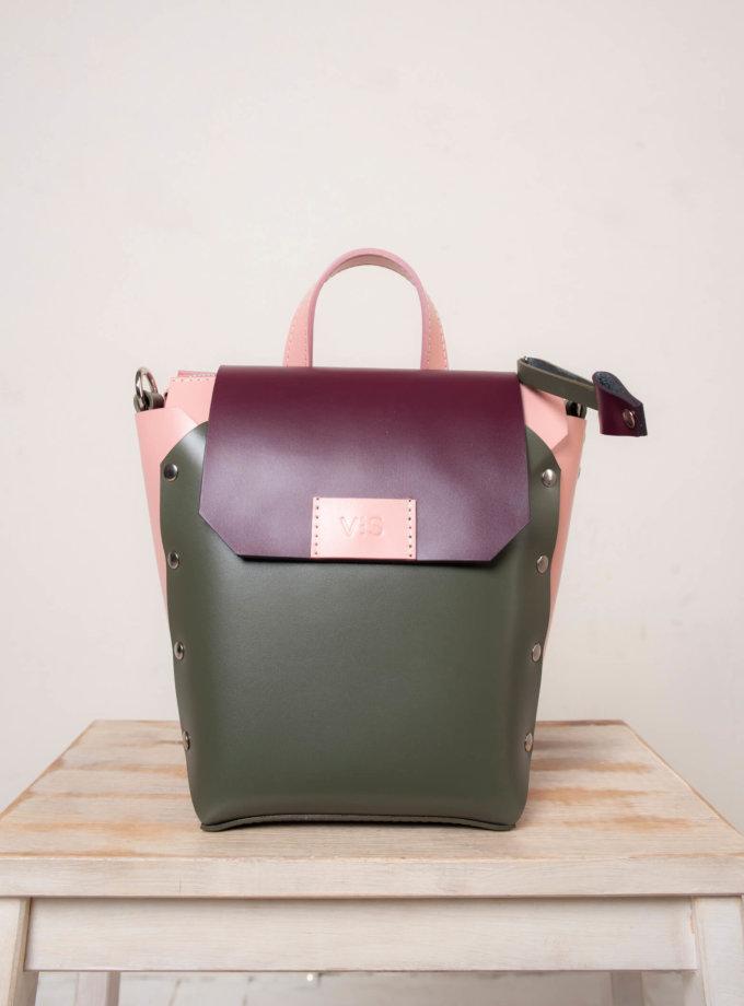 Рюкзак из кожи Adara VIS_Adara:backpack-002, фото 1 - в интернет магазине KAPSULA
