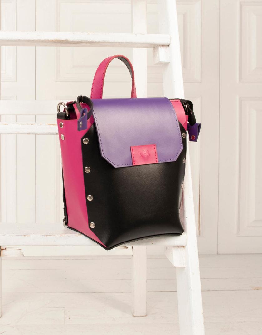 Рюкзак из кожи Adara VIS_Adara:backpack-004, фото 1 - в интернет магазине KAPSULA