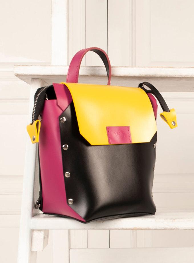 Рюкзак из кожи Adara VIS_Adara:backpack-005, фото 1 - в интернет магазине KAPSULA
