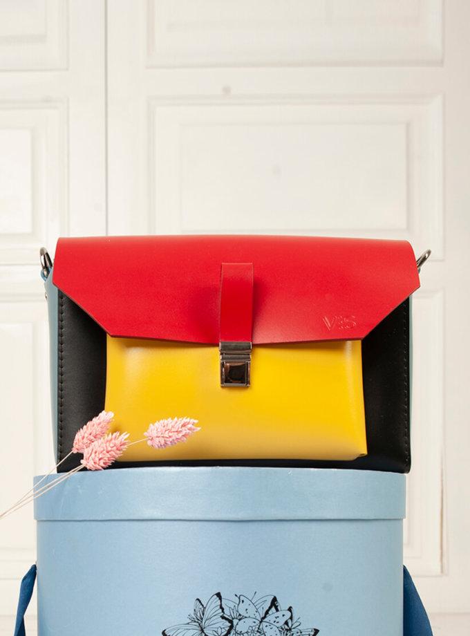 Кожаная сумка Gelena VIS_Gelena-bag-001, фото 1 - в интеренет магазине KAPSULA