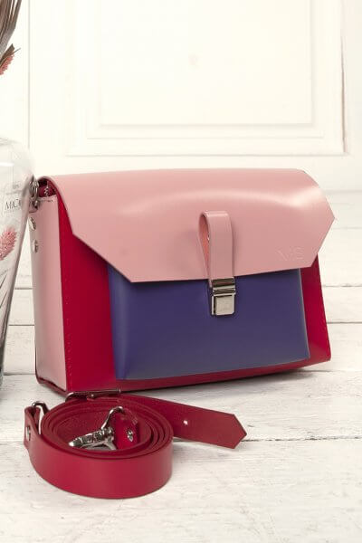 Кожаная сумка Gelena VIS_Gelena-bag-002, фото 3 - в интеренет магазине KAPSULA