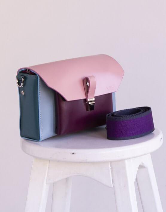Кожаная сумка Gelena VIS Gelena:bag-003, фото 3 - в интеренет магазине KAPSULA