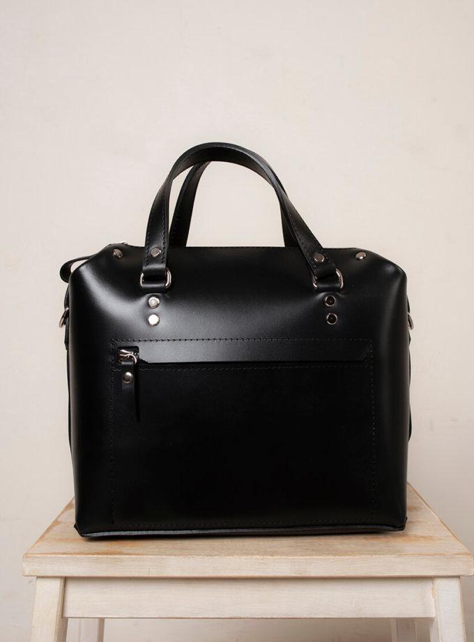 Кожаная сумка VIS Kastor M VIS_Kastor-suitcase-М-001, фото 1 - в интернет магазине KAPSULA