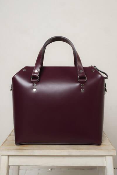 Кожаная сумка VIS Kastor M VIS_Kastor-suitcase-М-003, фото 5 - в интеренет магазине KAPSULA