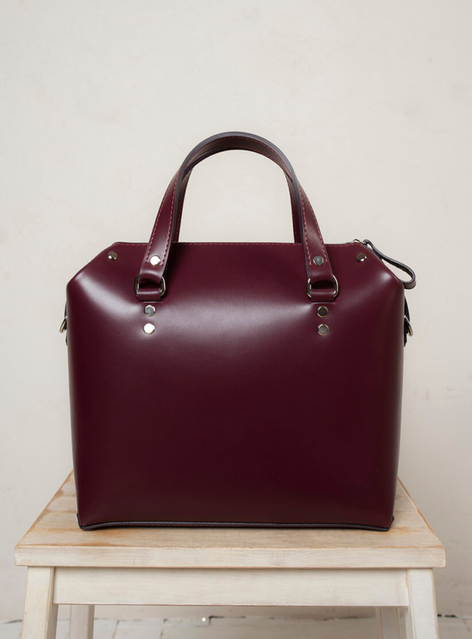 Кожаная сумка VIS Kastor M VIS_Kastor-suitcase-М-003, фото 1 - в интернет магазине KAPSULA