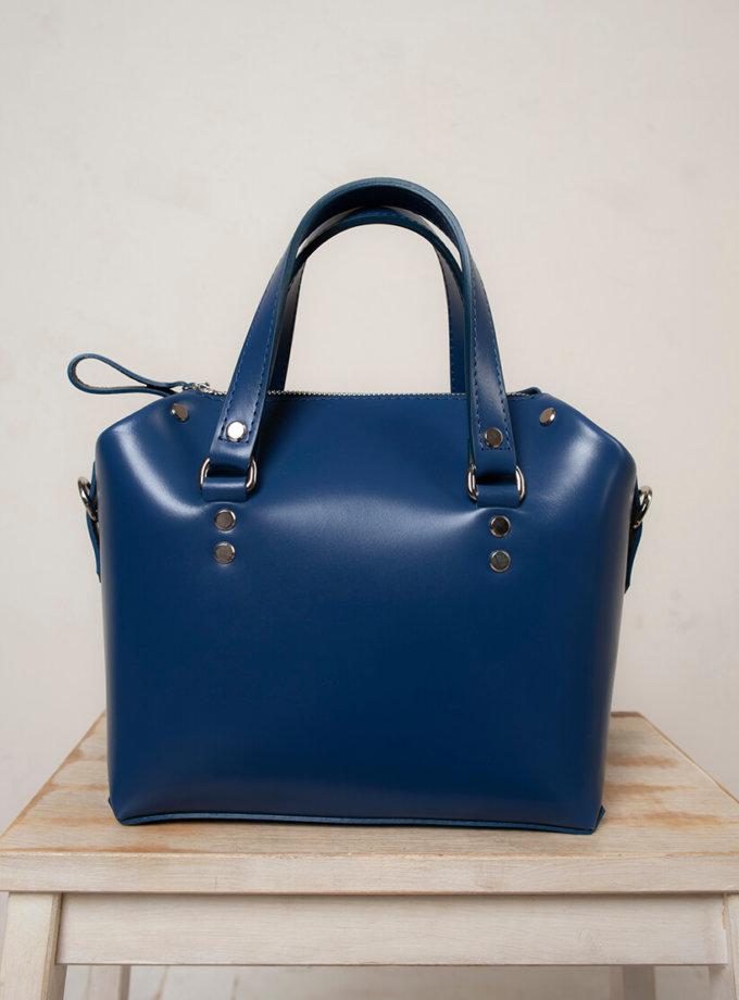 Кожаная сумка Kastor S VIS_Kastor-suitcase-S-001, фото 1 - в интернет магазине KAPSULA