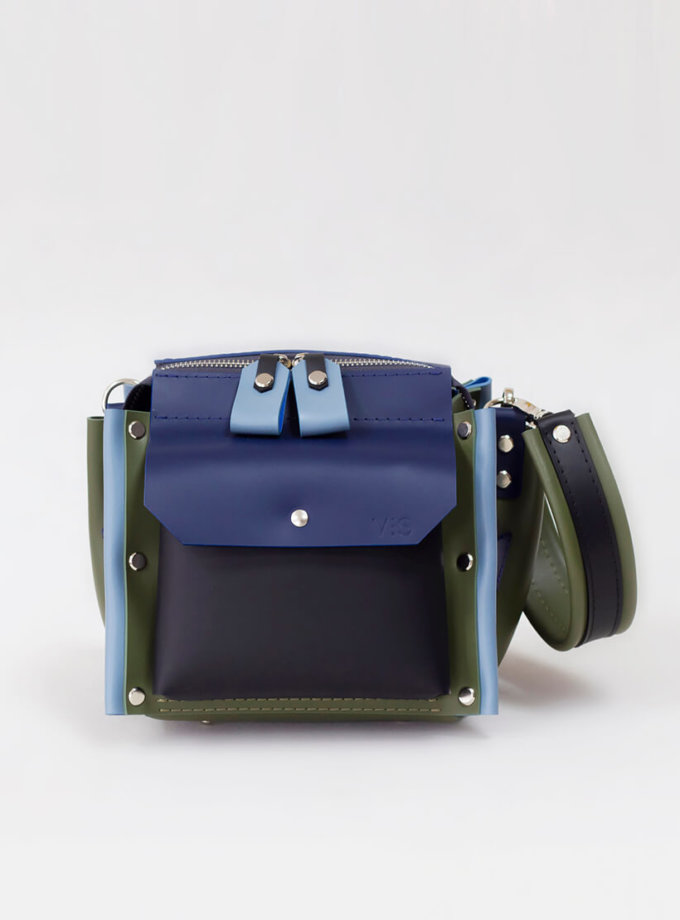 Сумка Lutecia из кожи VIS_Lutecia-bag-001, фото 1 - в интернет магазине KAPSULA