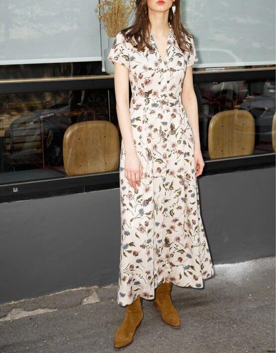 Платье-рубашка из хлопка VONA_SS-20-47, фото 3 - в интеренет магазине KAPSULA