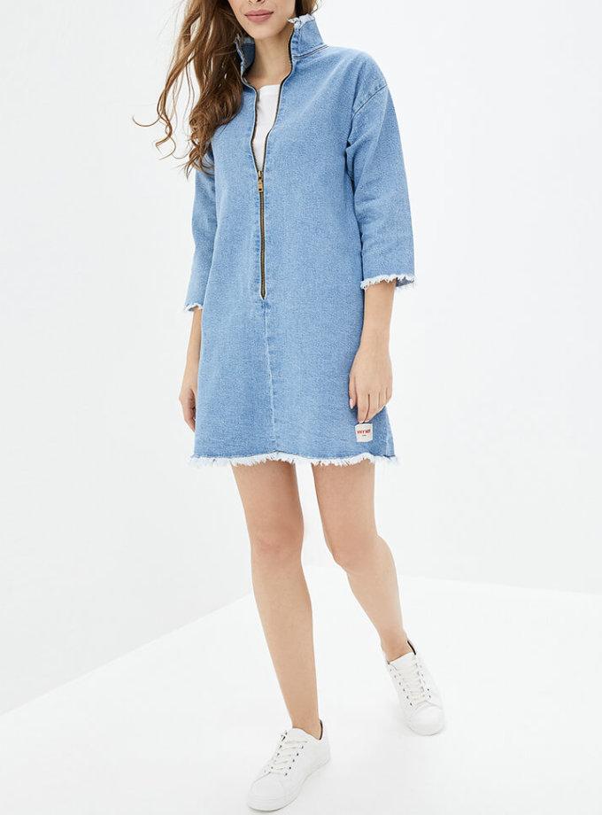 Джинсовое платье мини WNDM_dd1, фото 1 - в интеренет магазине KAPSULA