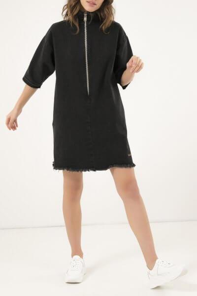 Джинсовое платье мини WNDM_ddbs1, фото 1 - в интеренет магазине KAPSULA