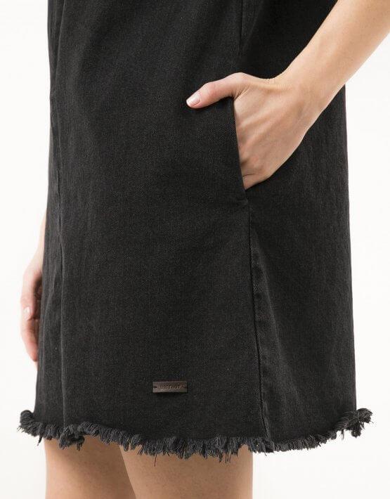 Джинсовое платье мини WNDM_ddbs1, фото 4 - в интеренет магазине KAPSULA