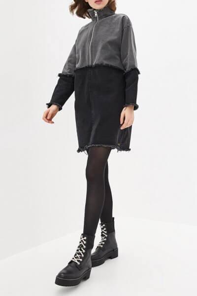 Джинсовое платье мини WNDM_ddgb2, фото 1 - в интеренет магазине KAPSULA
