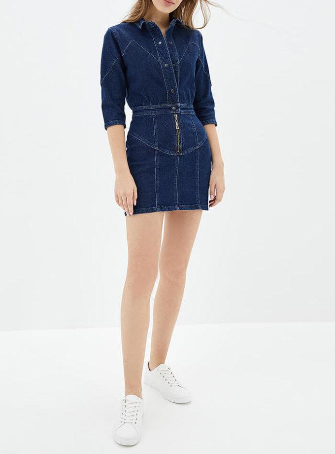 Джинсовое платье мини WNDM_dh1, фото 1 - в интернет магазине KAPSULA