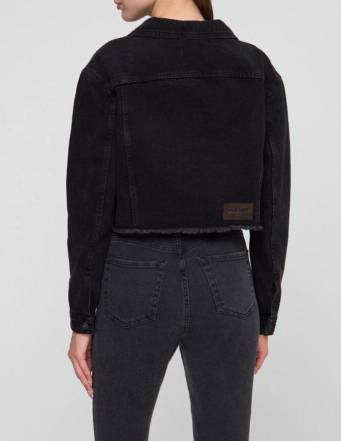 Джинсовая куртка WNDM_jb1, фото 1 - в интернет магазине KAPSULA