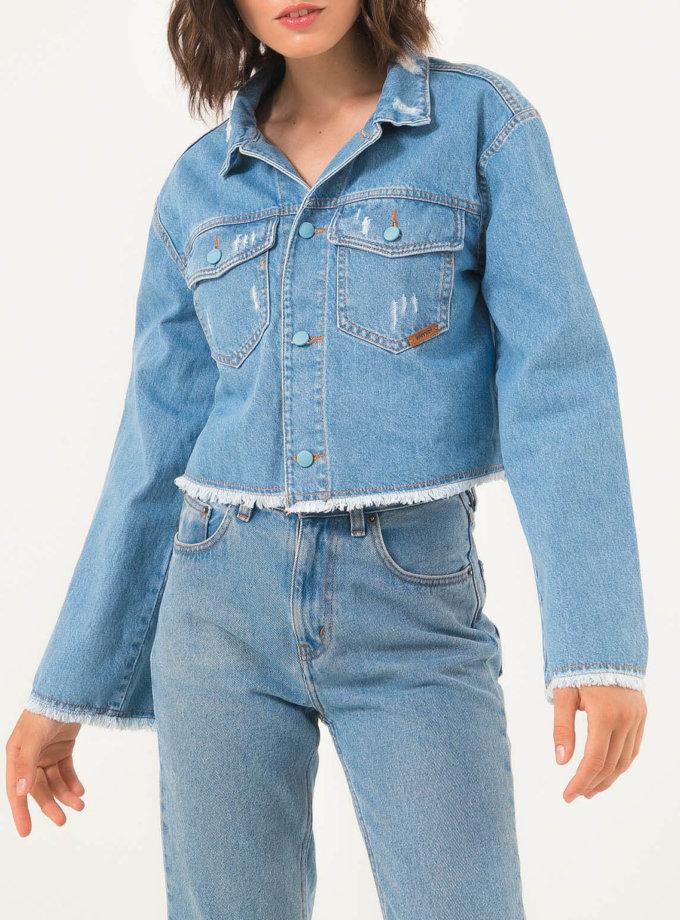 Джинсовая куртка WNDM_jj1, фото 1 - в интеренет магазине KAPSULA
