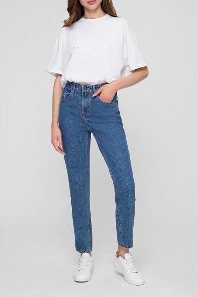 Хлопковые джинсы Mom WNDM_jm1, фото 1 - в интеренет магазине KAPSULA