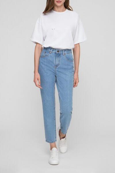 Хлопковые джинсы Mom WNDM_jm2, фото 1 - в интеренет магазине KAPSULA