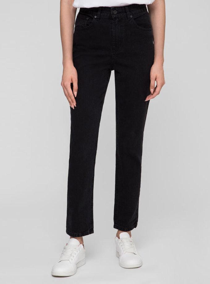 Хлопковые джинсы Mom WNDM_jm3, фото 1 - в интеренет магазине KAPSULA
