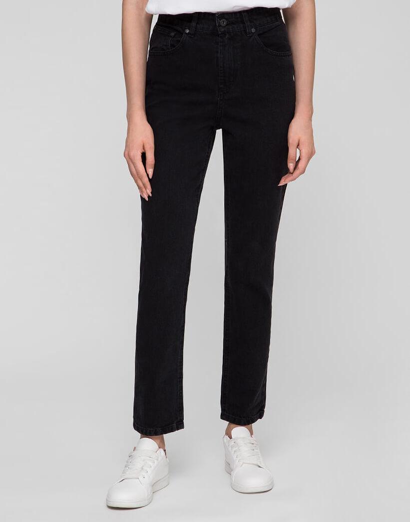 Хлопковые джинсы Mom WNDM_jm3, фото 1 - в интернет магазине KAPSULA