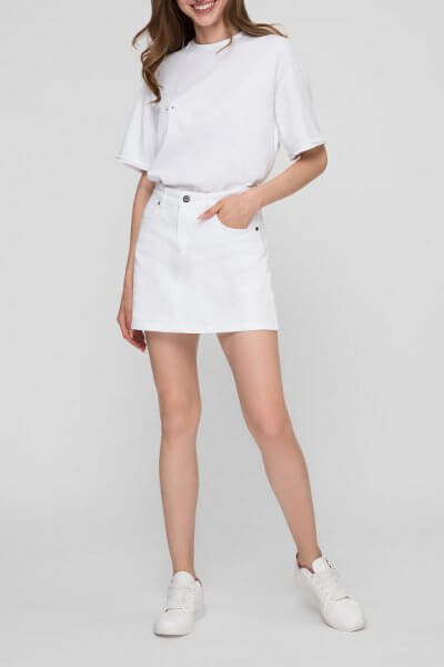 Джинсовая юбка мини WNDM_sb4, фото 1 - в интеренет магазине KAPSULA