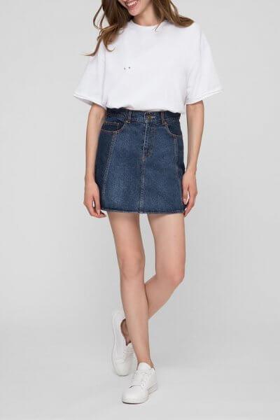 Джинсовая юбка мини WNDM_sm1, фото 1 - в интеренет магазине KAPSULA