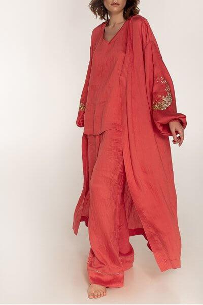 Льняной костюм-тройка WNDR_ ss20_3k_01, фото 1 - в интеренет магазине KAPSULA