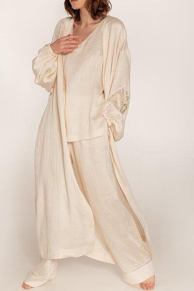 Льняной костюм-тройка WNDR_ ss20_3mlk_01, фото 1 - в интеренет магазине KAPSULA