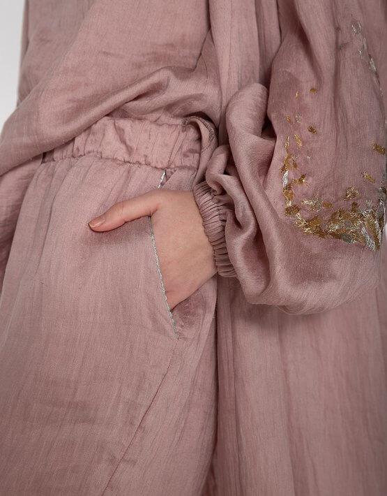 Льняной костюм-тройка WNDR_spr20_trс01_, фото 6 - в интеренет магазине KAPSULA