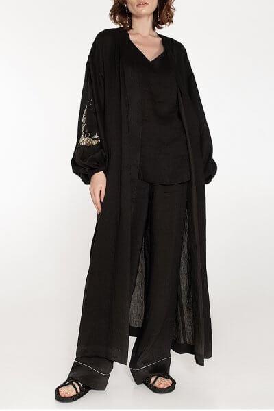 Льняной костюм-тройка WNDR_ss20_3blck_01, фото 3 - в интеренет магазине KAPSULA