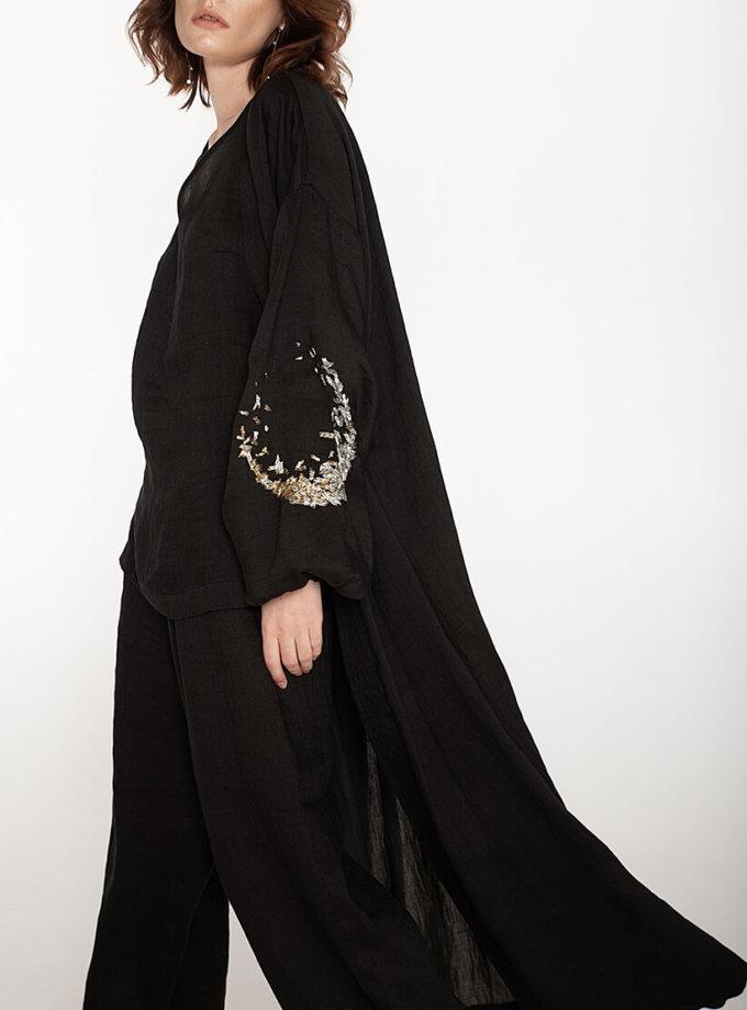 Льняной костюм-тройка WNDR_ss20_3blck_01, фото 1 - в интеренет магазине KAPSULA