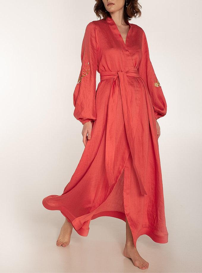 Платье на запах из льна WNDR_ss20_dlk_03, фото 1 - в интеренет магазине KAPSULA