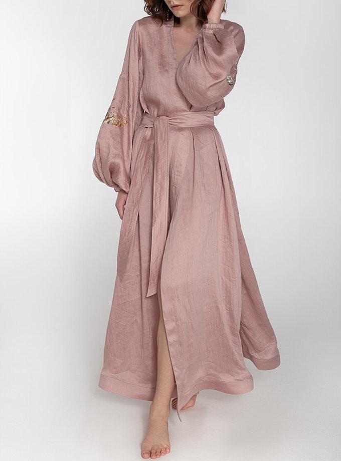 Платье на запах из льна WNDR_ss20_dlp_03, фото 1 - в интеренет магазине KAPSULA
