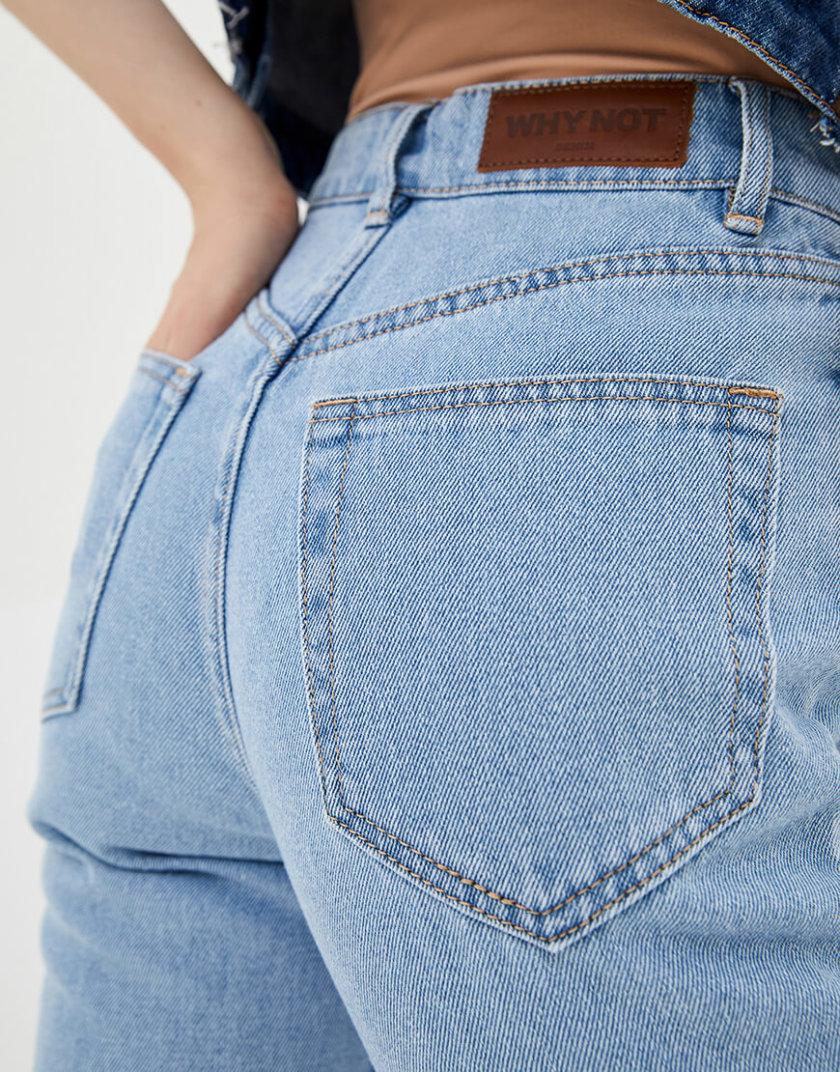 Хлопковые джинсы Mom WNDM_jm2, фото 1 - в интернет магазине KAPSULA