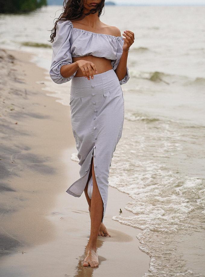 Льняной костюм Malena MC_MY3920, фото 1 - в интернет магазине KAPSULA