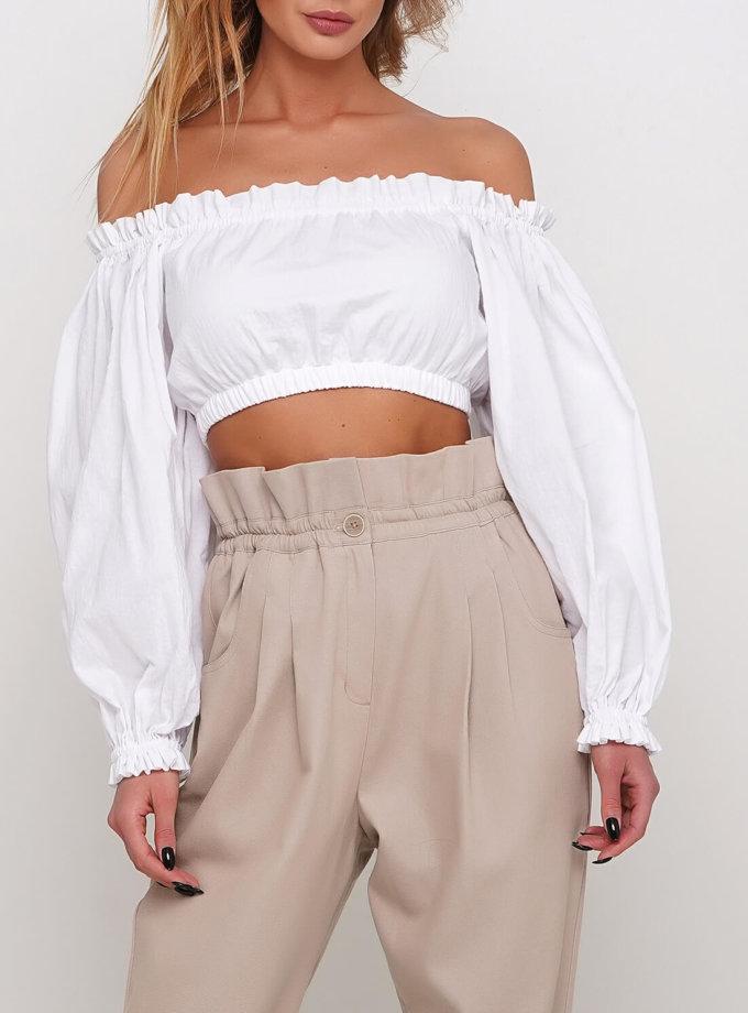 Блуза с длинным рукавом AY_2978, фото 1 - в интернет магазине KAPSULA