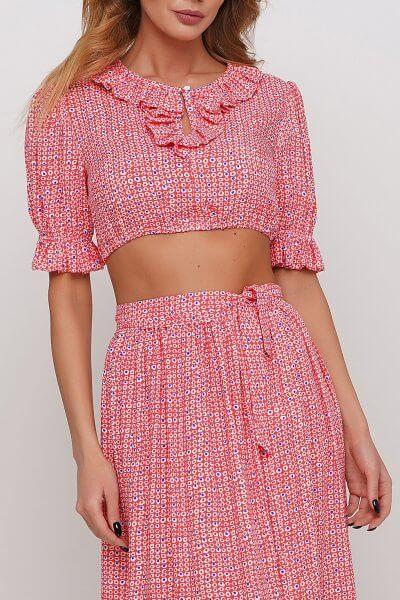 Короткая блуза AY_2979, фото 1 - в интеренет магазине KAPSULA