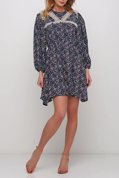 Легкое платье с декором из кружева AY_2983, фото 1 - в интеренет магазине KAPSULA