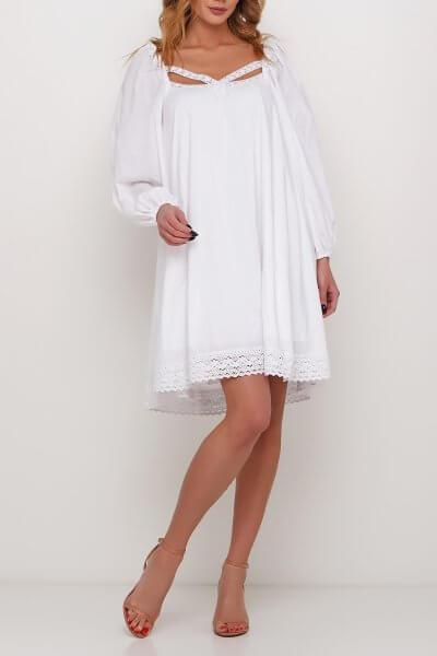 Платье с декором из кружева AY_2985, фото 1 - в интеренет магазине KAPSULA