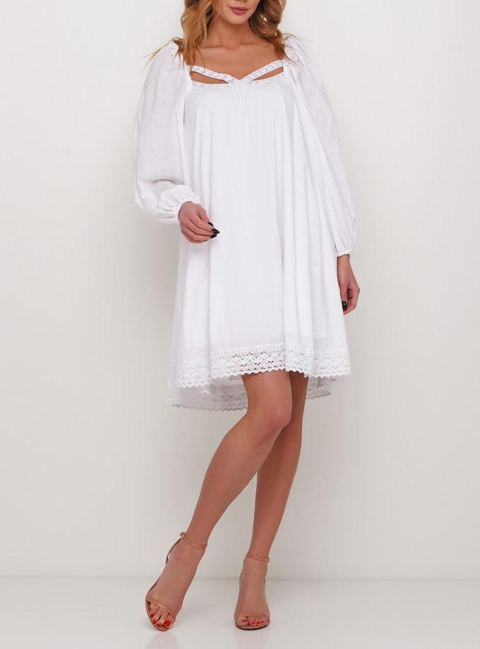 Платье с декором из кружева AY_2985, фото 1 - в интернет магазине KAPSULA