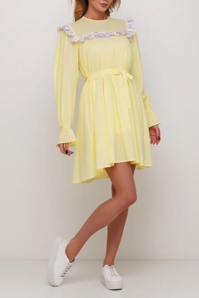 Расклешенное платье AY_2987, фото 3 - в интеренет магазине KAPSULA