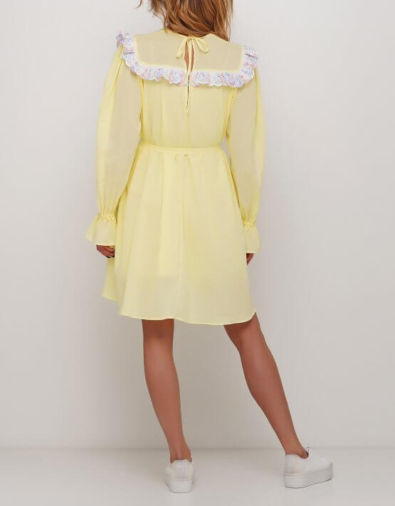 Расклешенное платье AY_2987, фото 2 - в интеренет магазине KAPSULA