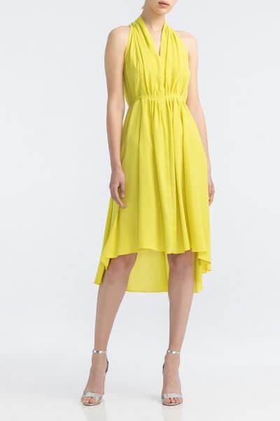Хлопковое платье с открытыми плечами ALOT_100339, фото 1 - в интеренет магазине KAPSULA