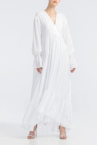 Платье макси с запахом ALOT_100404, фото 1 - в интеренет магазине KAPSULA