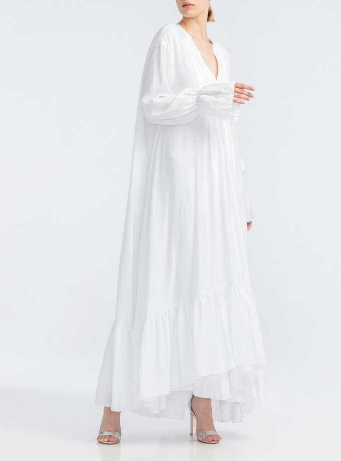 Платье макси с запахом ALOT_100404, фото 1 - в интернет магазине KAPSULA